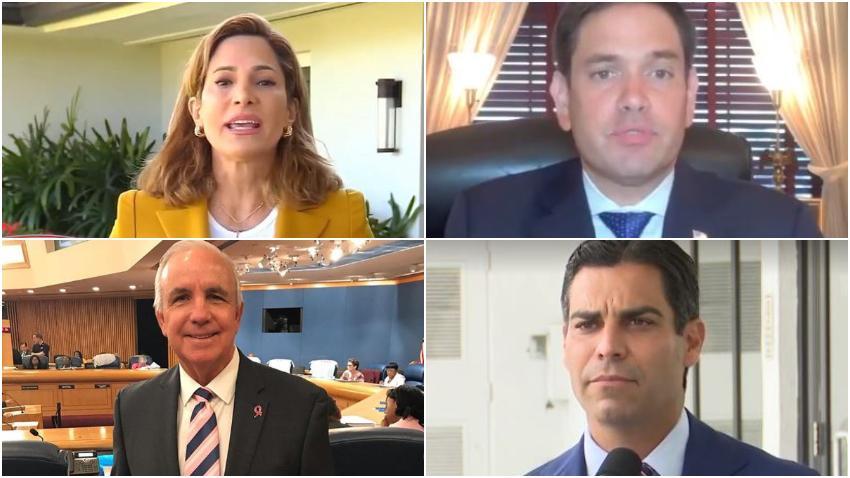 """Congresistas y alcaldes de EEUU apoyan petición para que Biden mantenga la política de """"mano dura"""" con La Habana"""
