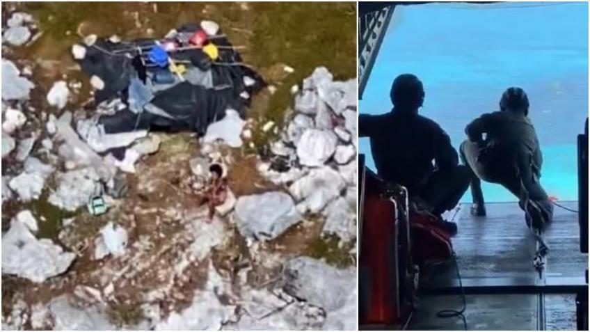 Guardia Costera de los EEUU rescata a tres cubanos que sobrevivieron por 33 días en una isla deshabitada de las Bahamas