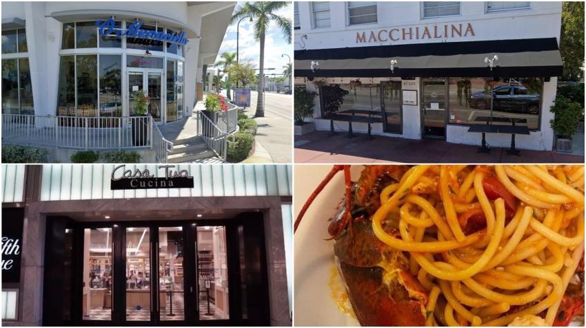 10 mejores restaurantes italianos en Miami en el 2021