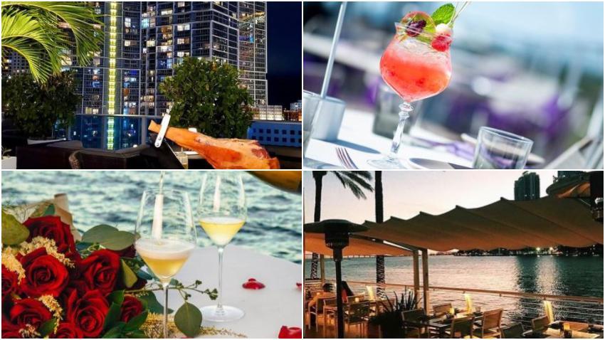 Restaurantes para celebrar el día de San Valentín en Miami 2021