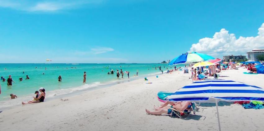 Ocho playas de Florida entre las 25 mejores playas de Estados Unidos en el 2021
