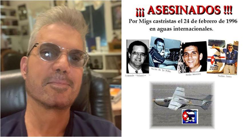 """Willy Chirino recuerda con dolor el asesinato de los pilotos de Hermanos al Rescate: """"Hoy es un día muy triste para todos los cubanos que amamos la libertad"""""""