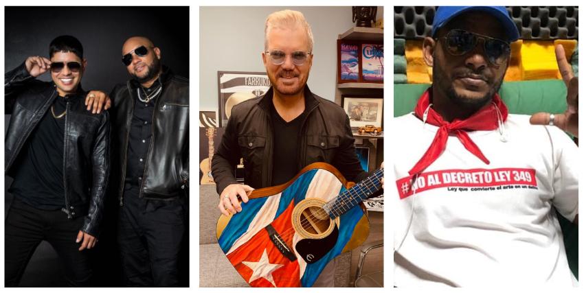 """Baby Lores e Insurrecto preparan tema musical """"Cuba Despierta"""" con la colaboración de Willy Chirino y Maykel Osorbo, entre otros artistas"""