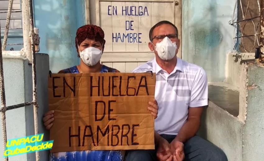 José Daniel Ferrer y casi medio centenar de activistas de UNPACU cumplen su quinto día en huelga de hambre
