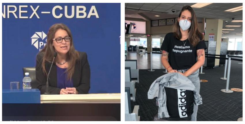 """El MINREX acusa a la periodista Karla Pérez de estar vinculada a """"los planes anticubanos reaccionarios"""" de la Florida"""