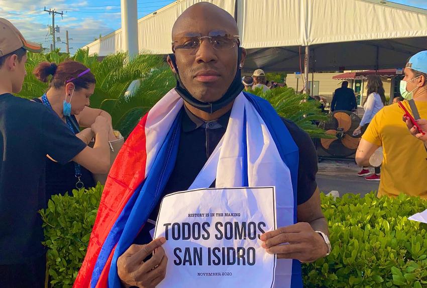 Yordenis Ugás crítica el egoísmo de algunos, y explica que una Cuba libre beneficiará a todos