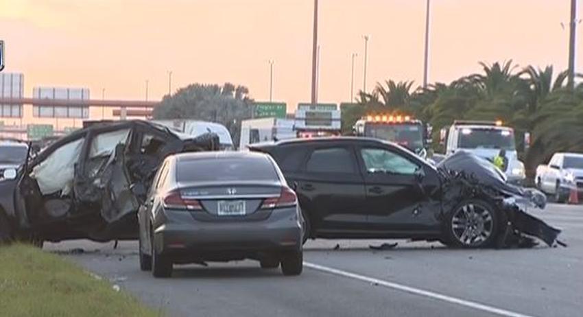 Muere mujer en el Dolphin Expressway tras ser golpeada por dos vehículos