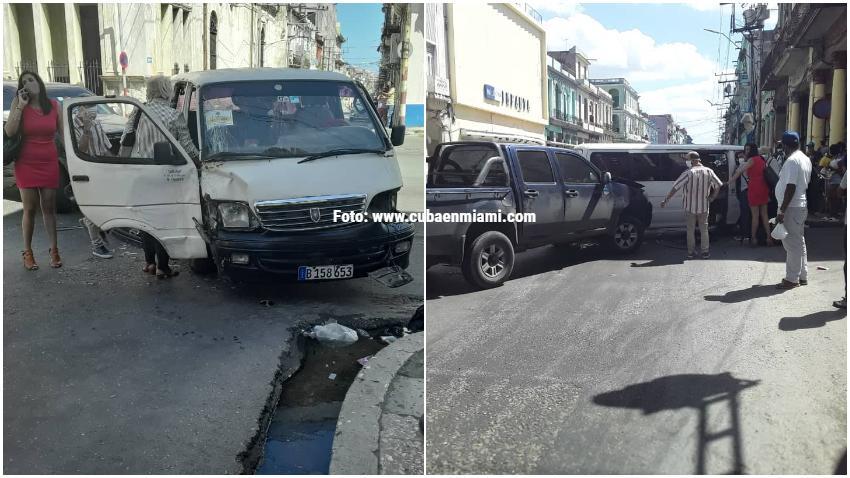 Esquina en La Habana no pasa una semana sin que ocurra un accidente