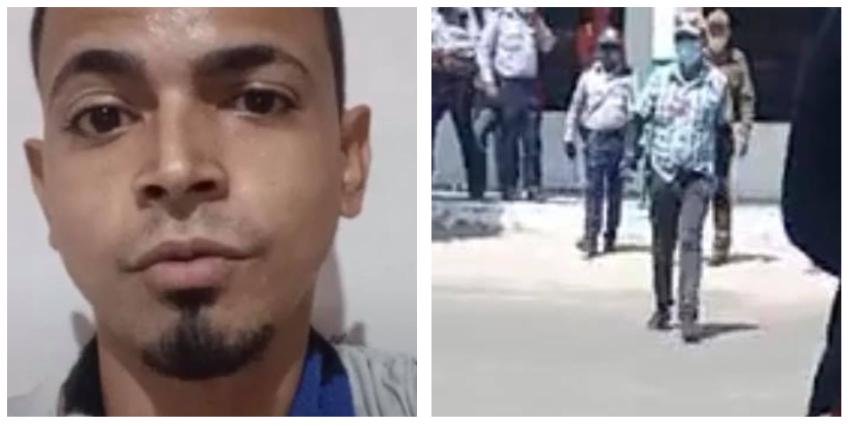 Arrestan e imponen multa de 3.000 pesos a un joven cubano, por hacer una directa en una cola en Las Tunas