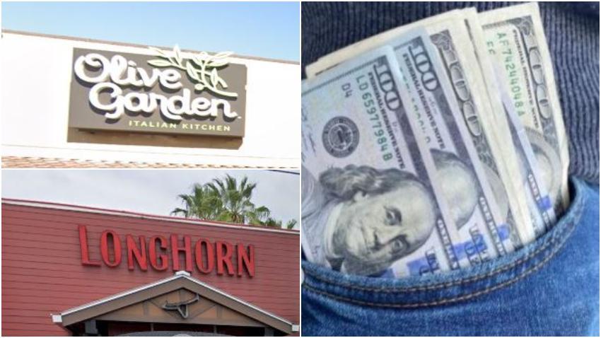 Compañía propietaria de Olive Gardens, Longhorn Steakhouse y otros distribuirá 17 millones de dólares en bono a sus empleados