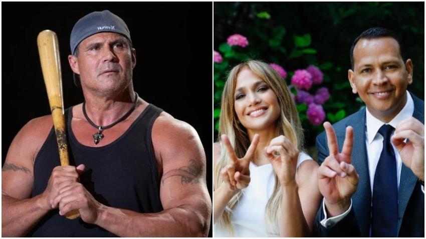 """Ex pelotero cubano José Canseco se declara a Jennifer López: """"Estoy soltero y soy fiel"""""""