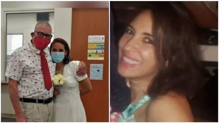 Arrestado el esposo de colombiana desaparecida luego que encontraran restos humanos en el patio de su casa