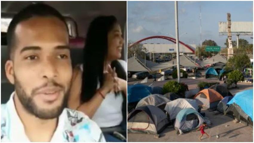 Médico cubano que llevaba más de un año en la frontera logra entrar a Estados Unidos