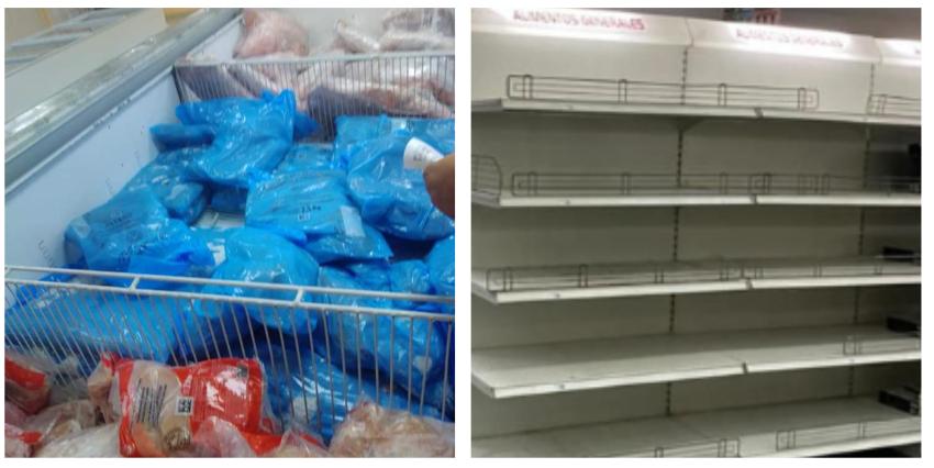 Cubano se pregunta cómo el embargo no afecta el suministro de las tiendas en dólares, al compararlas con las de moneda nacional