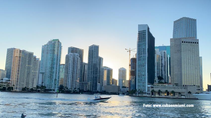 El precio medio de la renta en Miami cae un 11% comparado al 2020