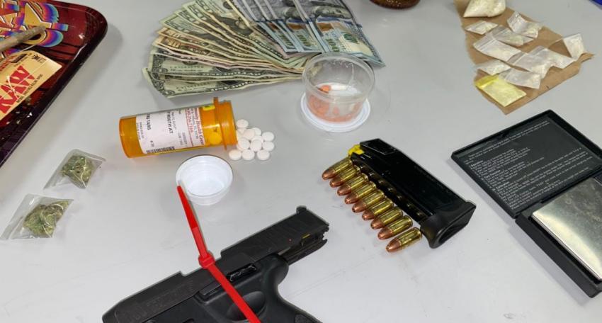 Dos arrestados en Miami Beach durante parada de tráfico donde se encontraron metanfetaminas y un arma