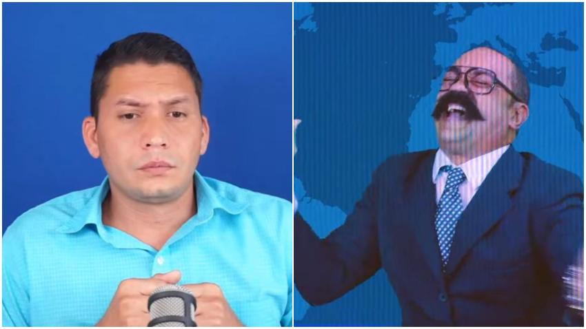 """Eliecer Avila se queja de las bromas y las críticas del personaje humorístico de Serrano: """"Es el programa más serio que hay hoy contra la oposición"""""""
