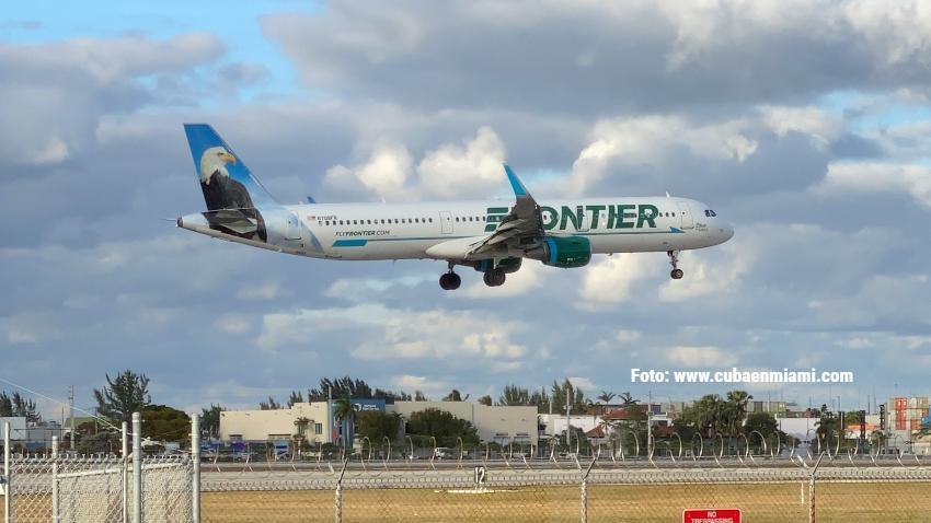 Aerolínea de bajo costo Frontier agrega 3 nuevos destinos desde Miami