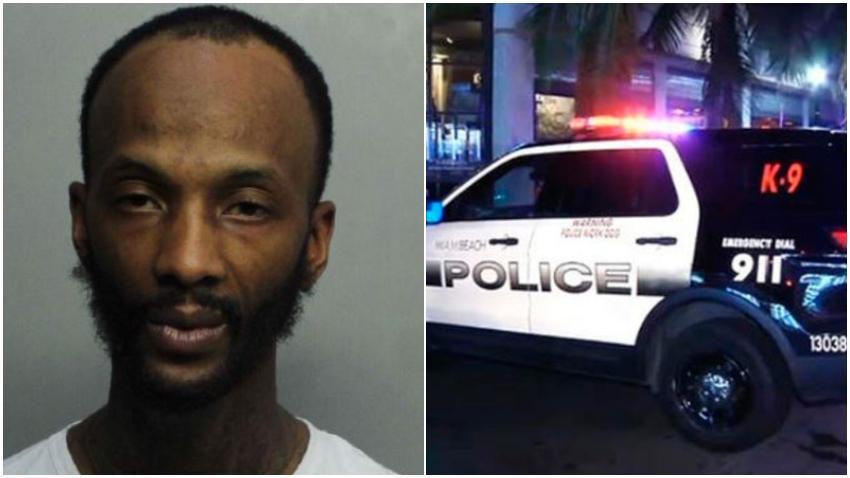 Detienen a conductor imprudente en South Beach y resulta ser un fugitivo armado de Georgia, dice la policía