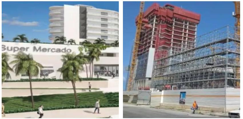 El régimen cubano sigue construyendo hoteles de lujo, en medio de la crisis económica y de la pandemia