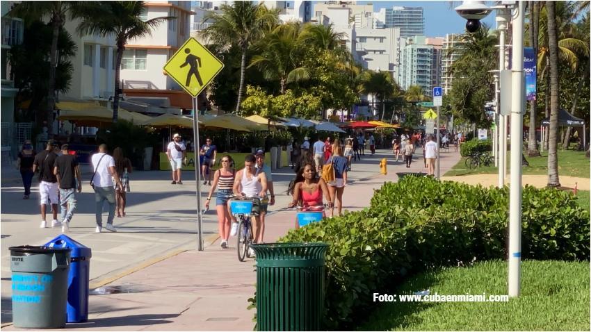 A una semana que se acabe el invierno en Miami las temperaturas parecen de verano