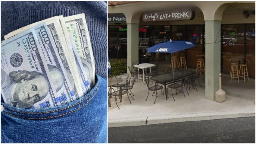 Mesera de restaurante en Florida recibe dos exorbitantes propinas el mismo día: $1300 y $1500