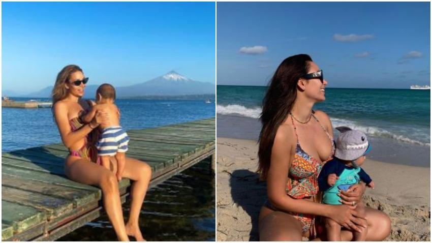Modelo cubana Lisandra Silva denuncia los mensajes que recibe sobre su hijo en redes sociales