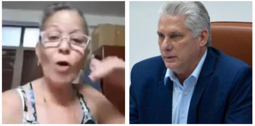 """Otra madre cubana explota contra Díaz-Canel: """"Si hay un discapacitado en tu familia, de seguro tiene hasta aire acondicionado"""""""