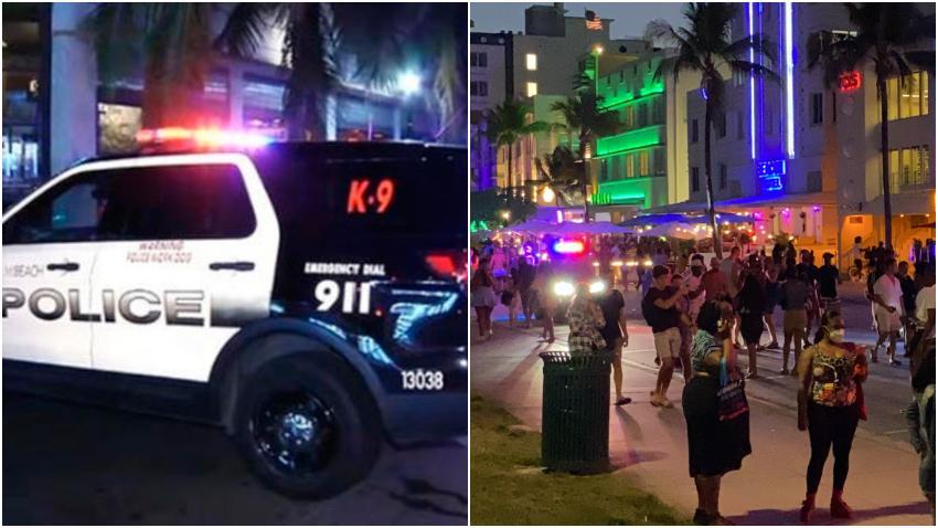 Policía de Miami Beach advierte a los vacacionistas que provoquen desorden que serán arrestados