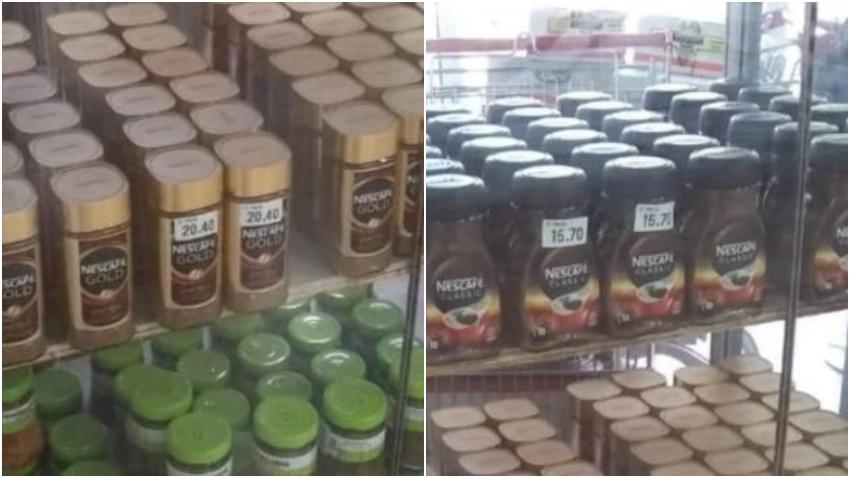 Cubanos indignados por el precio del Nescafé en las tiendas en dólares
