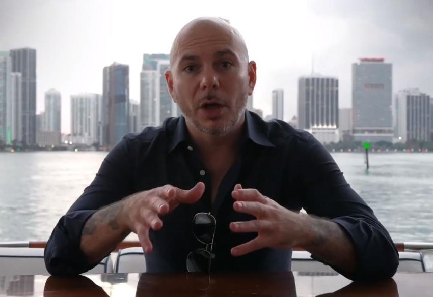 """Rapero cubanoamericano Pitbull sobre Miami: """"Es muy especial, no fuera lo que soy si no fuera por Miami"""""""