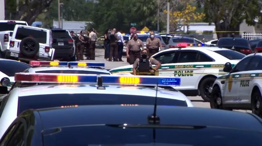 Un muerto en tiroteo en el suroeste de Miami-Dade en el que estuvo involucrada la policía