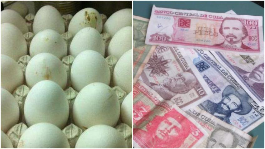 Cubanos se quejan por excesiva inflación: 400 pesos por un cartón de huevos y más de 600 cuesta un paquete de detergente