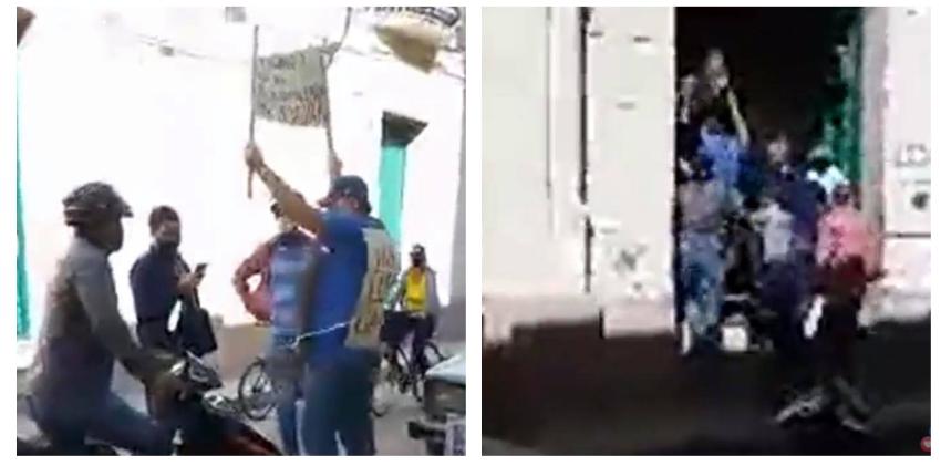 Arrestan a cubano que protestó con carteles frente a la sede del Gobierno en Camagüey