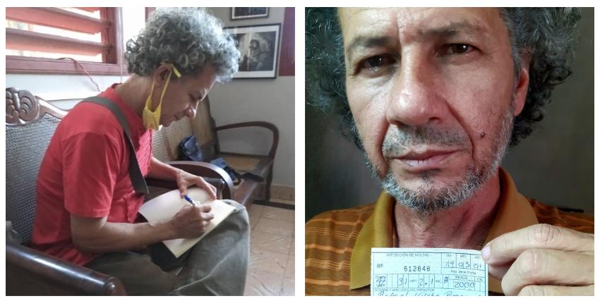 Seguridad del Estado amenaza a escritor cubano con meterlo preso si no paga multa de 2.000 pesos