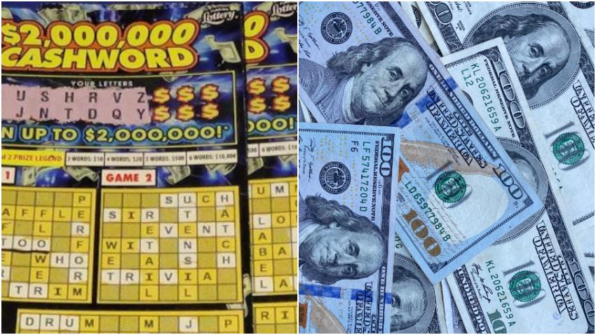 Hombre de Miami se gana 2 millones de dólares en un raspadito de la lotería de la Florida