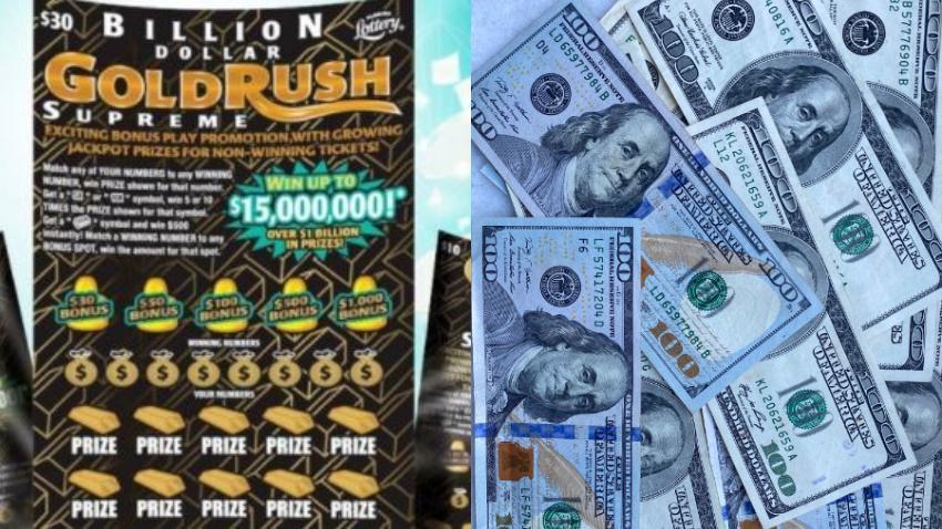 Hombre se gana $ 15 millones de dólares en el juego raspadito de la Lotería de la Florida