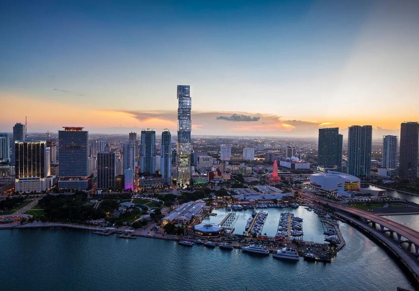El edificio residencial más alto al sur de la ciudad de Nueva York comienza a vender sus apartamentos en Miami