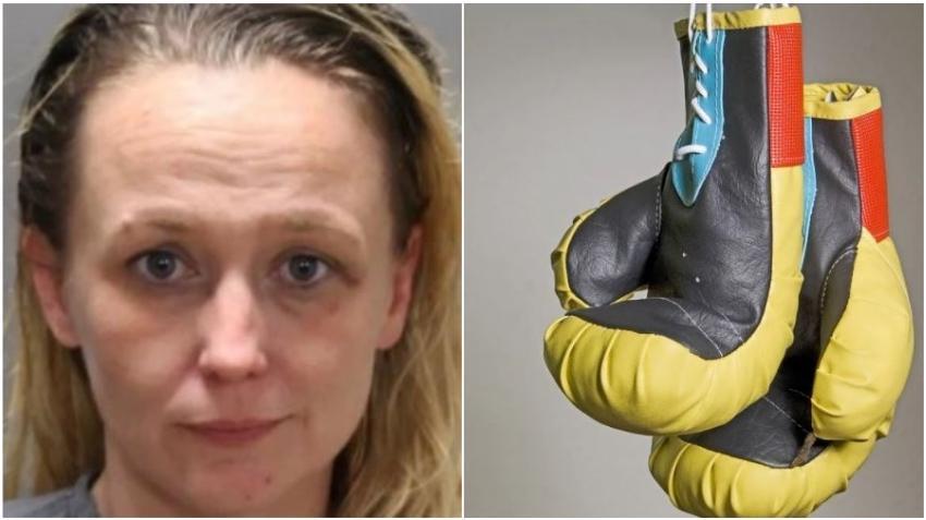 Una madre con un guante de boxeo se pelea con una estudiante en una escuela de Florida