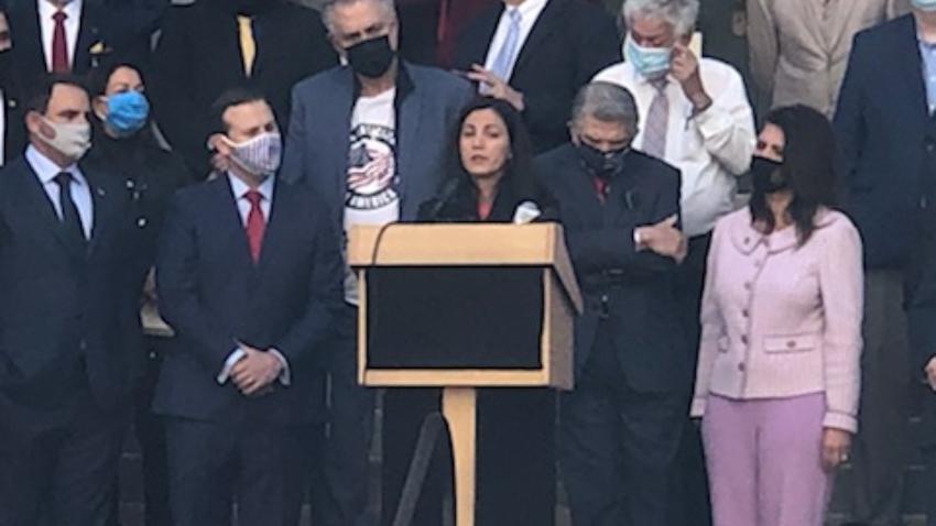 Rosa María Payá apoya en la legislatura de la Florida ley que buscan enseñar la verdad sobre el comunismo en las escuelas