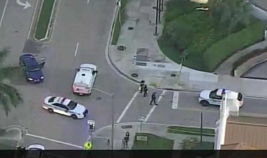 Hombre herido tras tiroteo fuera del hotel Marriott en Miami