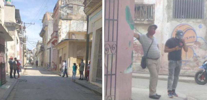 Luis Manuel Otero Alcántara cumple una semana de estar sitiado en San Isidro