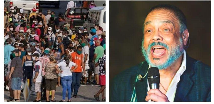 """Mensaje de Pancho Céspedes a los cubanos: """"Sal para la calle y reclama tus derechos, no mendigues más"""""""