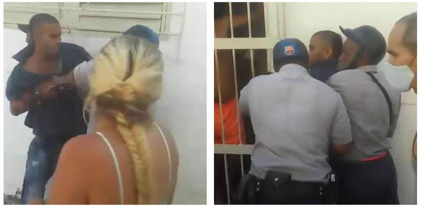 Violento arresto a un joven cubano por negarse a pasar el Servicio Militar