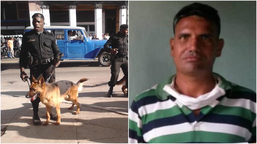 Activista matancero golpeado por los boinas negras, tras denunciar situación con el Covid-19 en Torriente