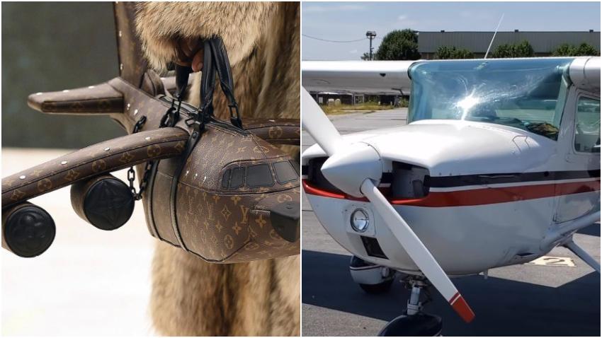 Louis Vuitton lanza bolso en forma de avión con un precio que puede superar al de un avión real