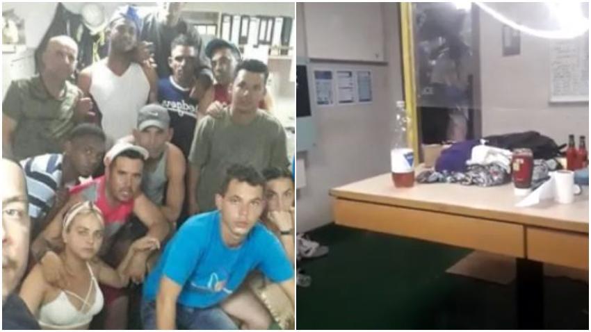 Cubanos rescatados por un buque de carga se niegan a ser bajados en Islas Caimán