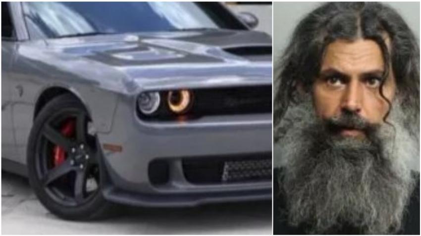 Arrestado un cubano en Hialeah tras intentar robar un Dodge Challenger afuera de una casa