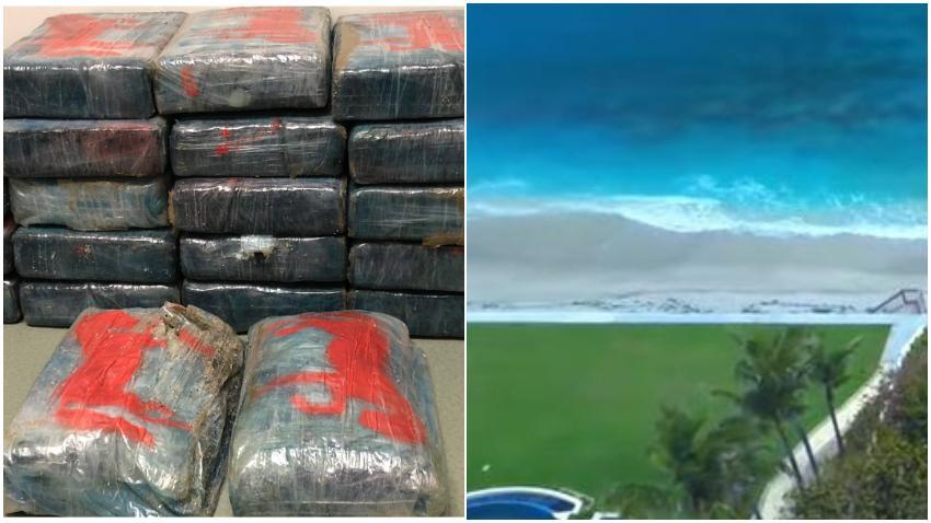 Bañista encuentra 1.5 millones de dólares en cocaína en una playa de Palm Beach en Florida