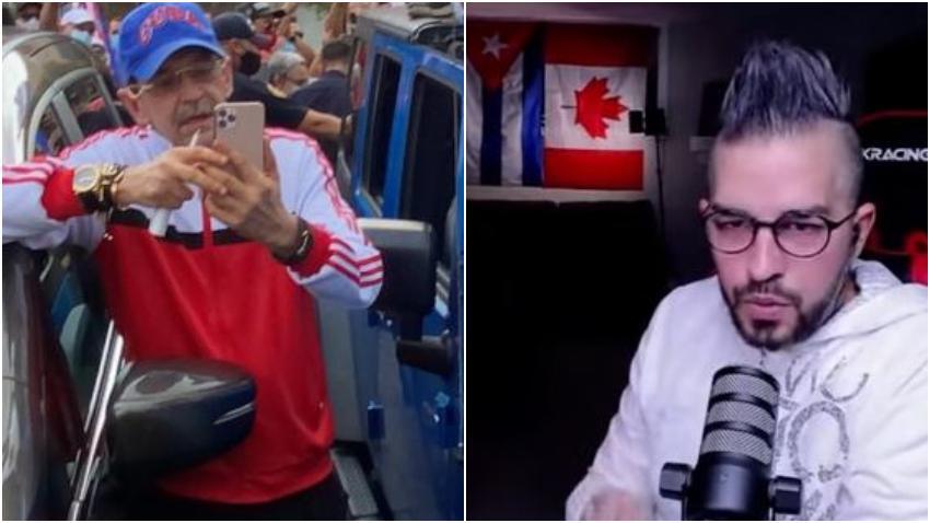 Edmundo García lanza amenazas físicas contra youtuber cubano